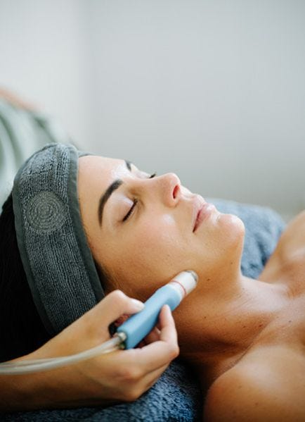 Massage & Hydro-microdermabrasion for $120