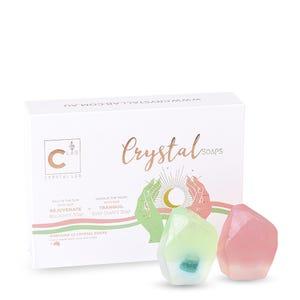 Crystal Soap Kit | Malachite + Rose Quartz