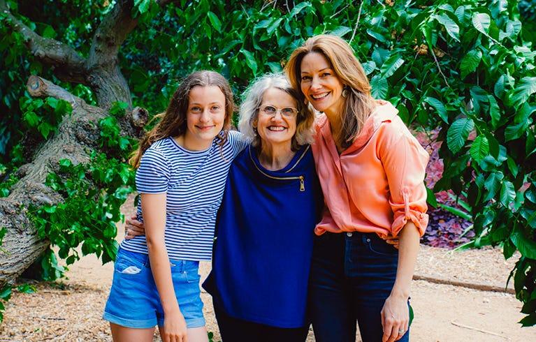 Antoinette Ferwerda & family