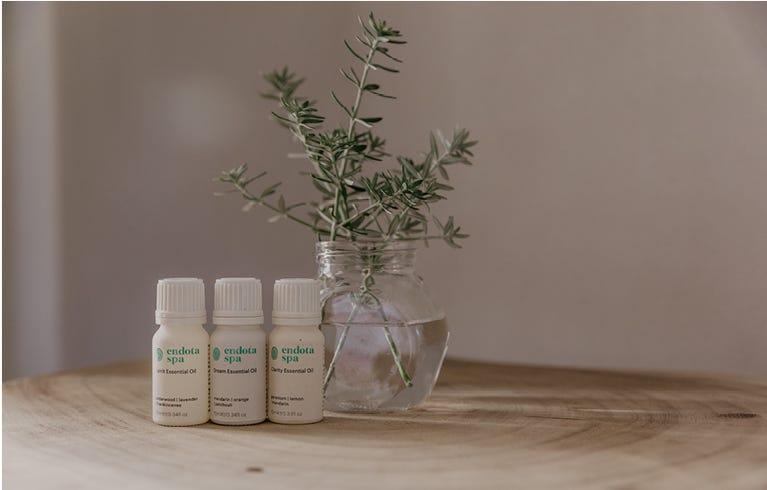 endota's range of Essential Oils