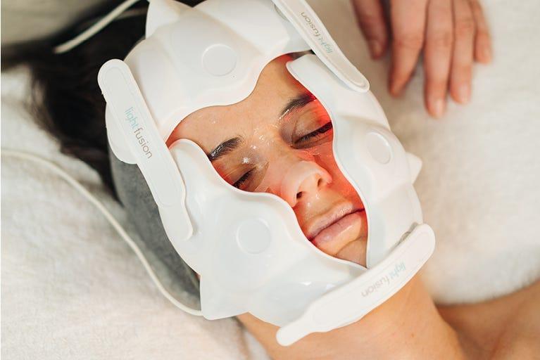 endota New Age Light Therapy facial