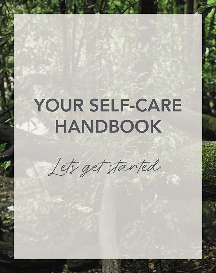 your self-care handbook