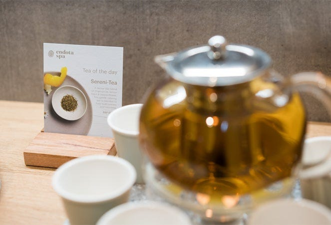 Southland Day Spa Complimentary Tea